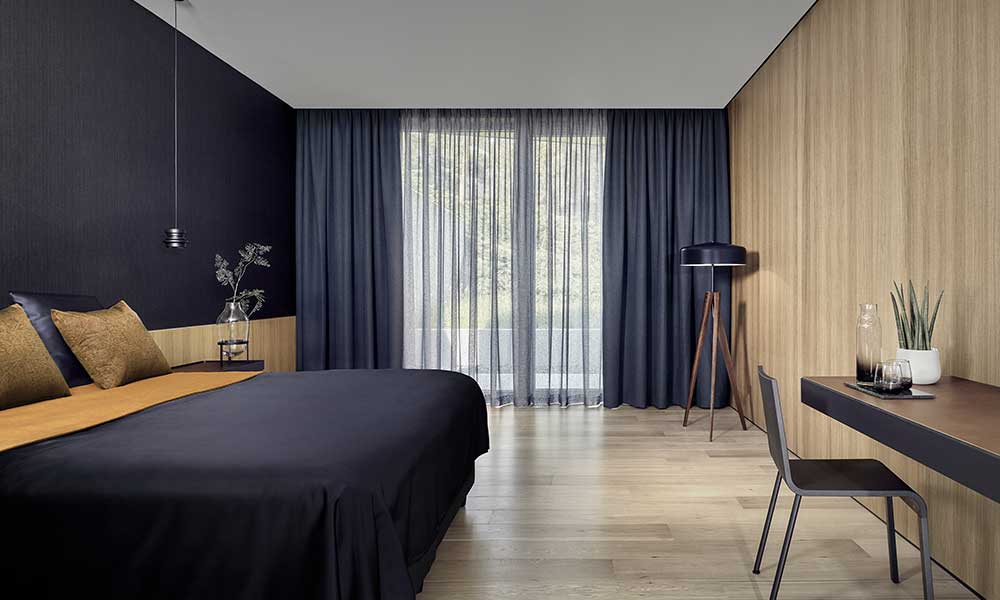 styl nowoczesny w sypialni