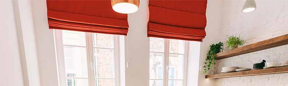 Jak mierzyć okna - roleta rzymska