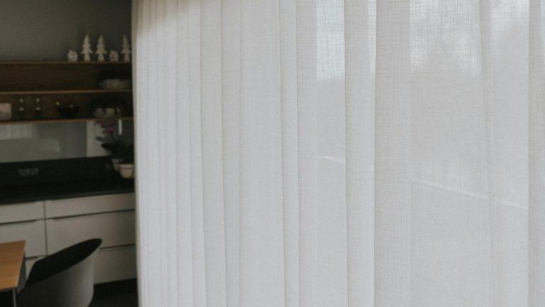 Przykład rodzaju firan linen look