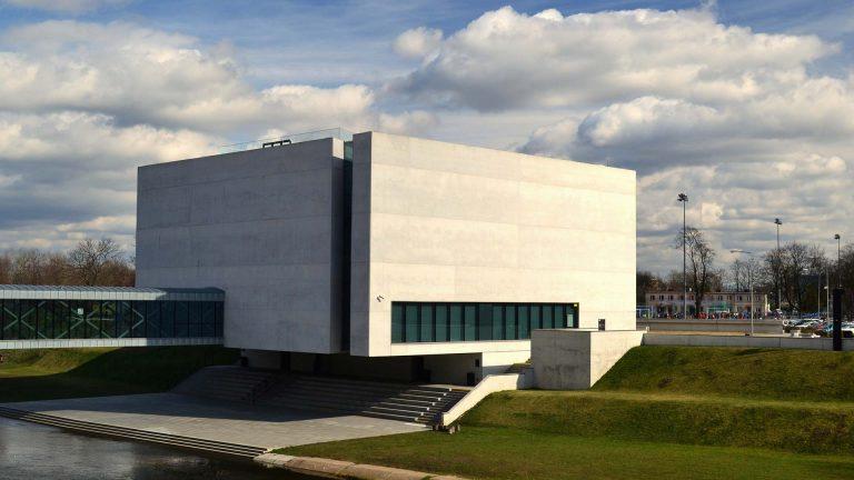 Muzeum brama poznania w Poznaniu z zewnątrz
