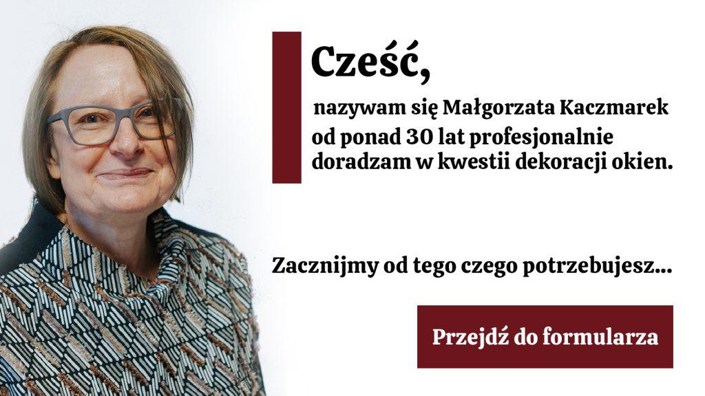 Małgorzata - wizytówka firmy