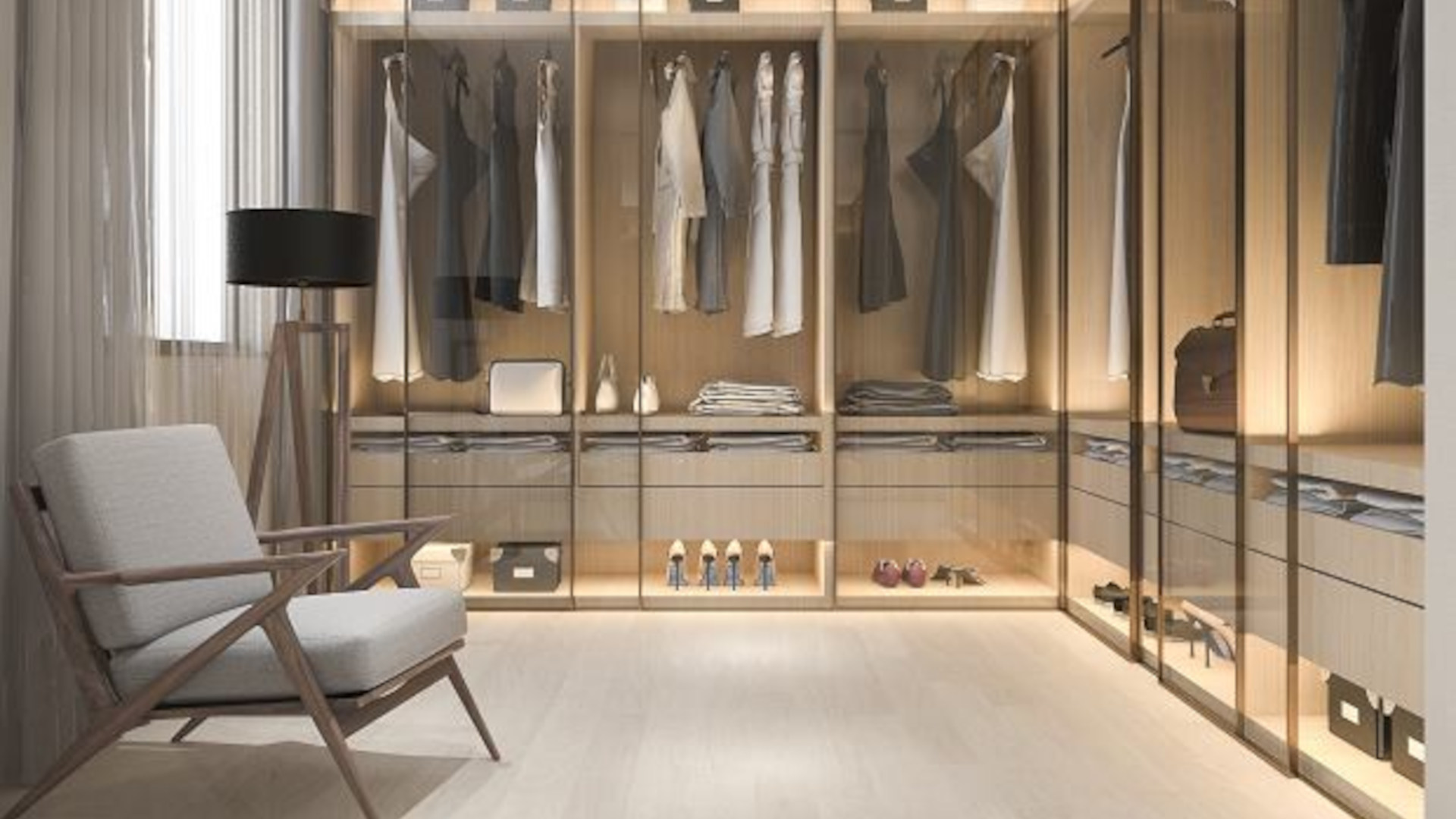 Top 5 inspiracji na aranżację garderoby