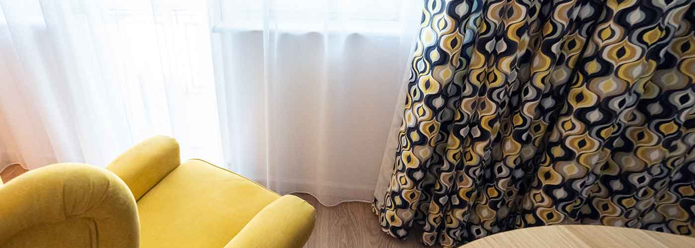 Firany i zasłony na okno tarasowe